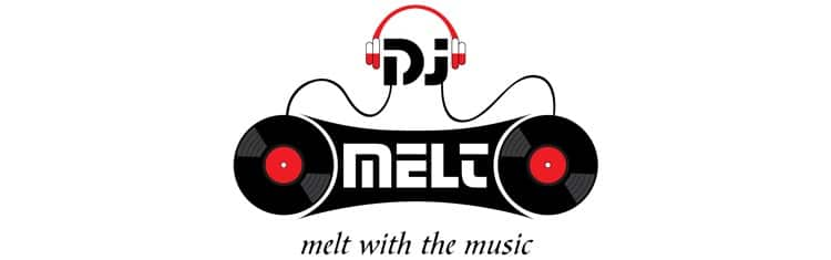 DJ Melt - Logo Header